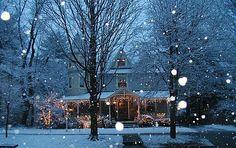 Snowfall, Pontiac, Illinois