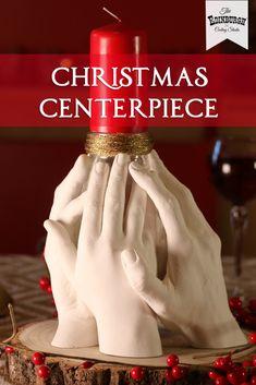 How to create a stunning hand cast centerpiece for your table Family Christmas, Diy Christmas, Hand Cast, It Cast, Casting Kit, Christmas Table Centerpieces, Jam Jar, Summer Ideas, Keepsakes