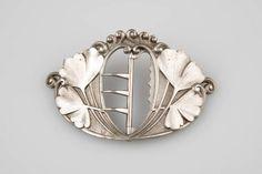 c.1900 Art Nouveau Clasp by Ernest Cardeilhac
