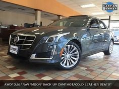 2014 Cadillac CTS 3.6L Luxury 2014 Cadillac CTS 3.6L Luxury 29336 Miles Phantom Gray Metallic 4D Sedan 3.6L V6
