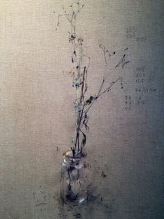 And another! (Nathan Ford) Creative Things, Creative Art, Toned Paper, Art Daily, Impressionist Art, Flower Paintings, Still Life Art, Bottle Painting, Everyday Objects