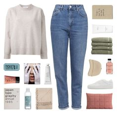 """i won't let you down"" by kiiaa ❤ liked on Polyvore featuring Topshop, Le Ciel Bleu, Common Projects, Muuto, The Body Shop, Linum Home Textiles, Hermès, NARS Cosmetics, Byredo and Bobbi Brown Cosmetics"