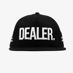 Black Dealer Snapback