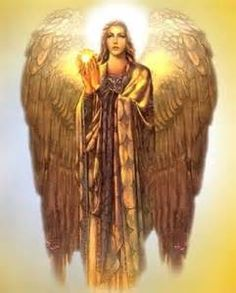 Chamael - he who sees God. One of the truely powerful archangels who stands in the presence of God. One of the governing angels of the seven planets and ruler of planet Mars.