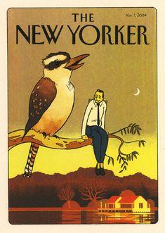 Illustration Inspiration - The New Yorker 01/11/2004 #bird #cover