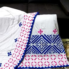 Indian Textiles, Embroidery, Quilts, Blanket, Collection, Design, Needlepoint, Quilt Sets, Quilt