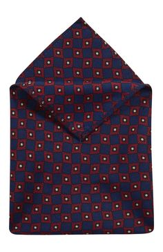 Primark navy diamond print pocket square!