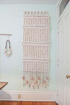 macrame wall hanging by ever-inspiring Sally England
