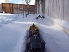 awesome G scale snowplow model train video #retirementgoals