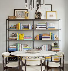 room and board etagere