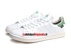 Adidas Originals Stan Smith GTX - Chaussure Pas Cher Pour Homme/Femme Blanc/Vert S80049-Boutique Adidas Originals de Running (FR) - LaAdidasOriginals.fr