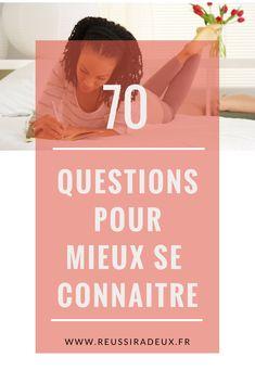 70 questions pour mieux se connaître