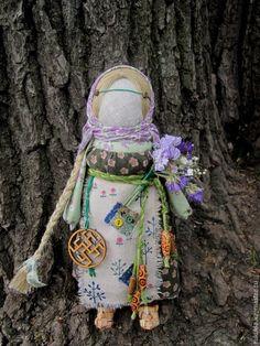 Купить Одолень-Трава - зеленый, травы, одолень трава, народная кукла, сухоцветы, народные куклы