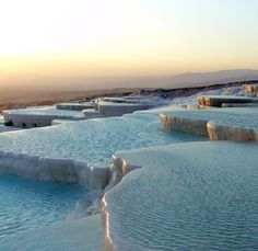 Pamukkale Travertine Pools, Turkey