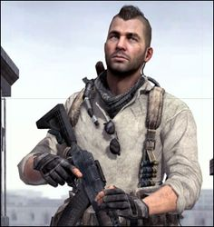 John Soap MacTavish. One of the greatest characters of all time.