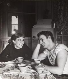 Marlon Brando with sister Jocelyn