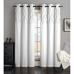 Shop for Avondale Manor Ella Curtain Panel Pair. Free Shipping on orders over $45 at Overstock.com - Your Online Home Decor Outlet Store! Get 5% in rewards with Club O! - 17706511