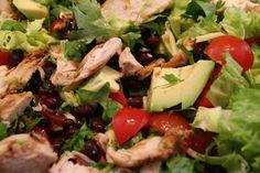 Meksikansk salat - Mat på bordet