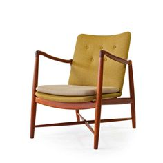 Finn Juhl teak easy chair, model BO46 for Bovirke ca.1950's