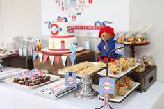Aniversário de menino: inspiração britânica