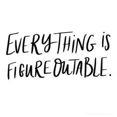 Monday Motivation: It's Figureoutable -