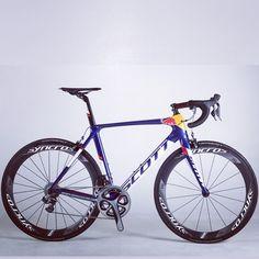 Red Bull Racing Scott Foil #roadbike #carbonbikes #f1 #cycling #procycling #bicycles #redbull #peloton