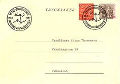 Minnespoststämpel Ystad-Swinoujscie 1967