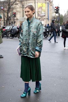 Comfort Was the Street Style Key On The Last Day Of Fashion Month - Fashionista