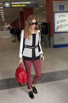 THE OLIVIA PALERMO LOOKBOOK: Airport Style: Olivia Palermo
