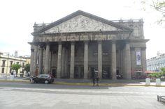 Teatro Degollado Centro Historico Guadalajara Jalisco Mex. Foto Enrique Haas