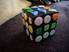 Tactile Rubik's Cube--This is awesome! I must try this!!