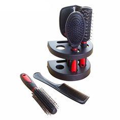 5pcs Professional Hair Salon Hair Comb And Mirror Kits Salon Barber Co