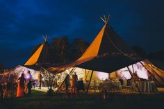 Tipis from a Rustic Inspired and Humanist Handfasting Ceremony | Photography by http://www.saralincolnphotography.co.uk/