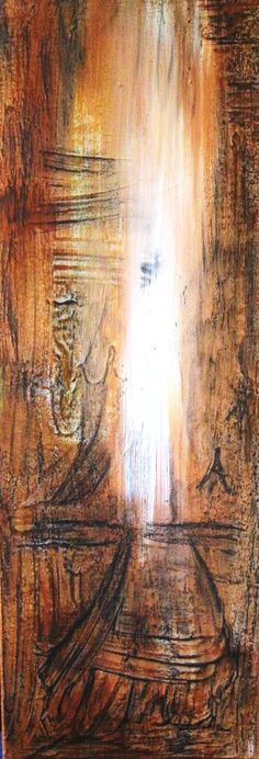 o.t.arcyl auf leinwand, 120x30cm