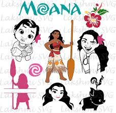 Image Result For Moana Svg Free Cricut Creations Cricut Clip Art