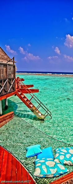 Maldives, Indian Ocean || Places to #getlucky curated by your friends at luckybloke.com