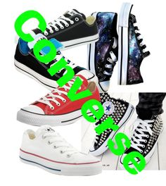 """Converse"" by hhatton on Polyvore"