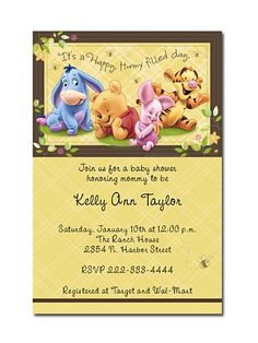 Winnie the pooh baby shower invitations instant download winnie the pooh baby shower invitations instant download filmwisefo