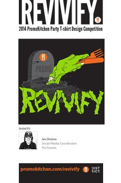 Revivify T-Shirt Contest Entry #10  See more here: https://www.facebook.com/media/set/?set=a.584764198243534.1073741826.220143218038969&type=3  #promotionalproducts #advertisingspecialties #ppaiexpo #design #graphicdesign #branding