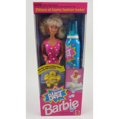 You played with Bath Blast Barbie until the water ran cold...