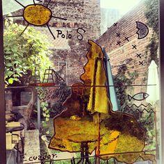 The famous upside-down map by Uruguayan artist J. Torres Garcia. #travel #uruguay #art
