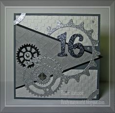 Happy 16 for a guy!! by Renlymat - Cards and Paper Crafts at Splitcoaststampers