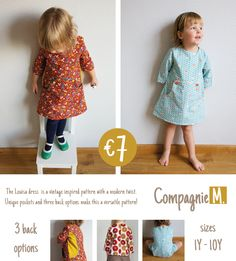 Pattern release: the Louisa dress pattern - Compagnie M.
