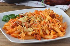 Chorizo Pasta, Pasta Noodles, Mediterranean Recipes, Pasta Recipes, Pasta Salad, Italian Recipes, Food And Drink, Lunch, Healthy Recipes