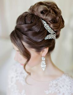 Cute Bun Hairstyles for Wedding Diy Wedding Hair, Short Wedding Hair, Bridal Hair, Wedding Bride, Trendy Wedding, Wedding Dresses, Wedding Venues, Easy Bun Hairstyles, Wedding Bun Hairstyles