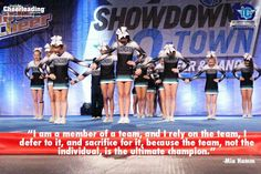 For all our cheer athletes♥
