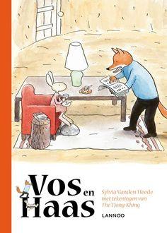 vos en haas. een mooi boek om samen te lezen als je net leert lezen.