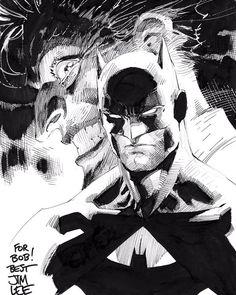 Batman, The Joker, and Wonder Woman by Jim Lee * Jim Lee Batman, I Am Batman, Batman Art, Comic Book Artists, Comic Artist, Comic Books Art, Jim Lee Art, Batman Drawing, Batman Universe