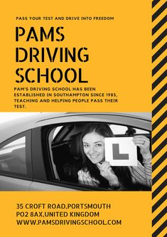 Pam's driving School has been established in Southampton since teaching and helping people Pass their Test.