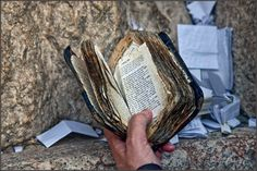 In honor of Yom Kippur, an old siddur, Jerusalem, The Western Wall @MikhailLevit
